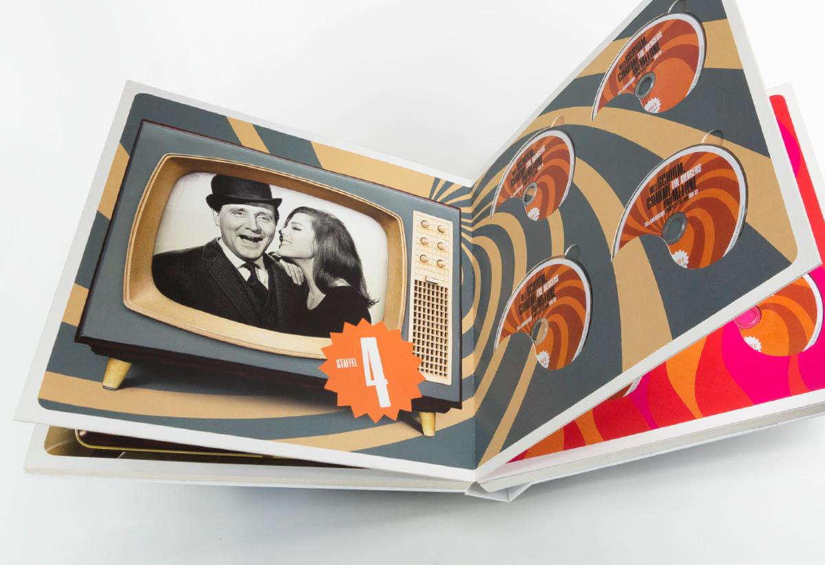 Mit Schirm Charme und Melone DVD