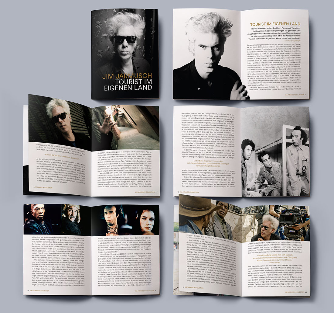 Jim Jarmusch DVD Edition Arthaus Booklet